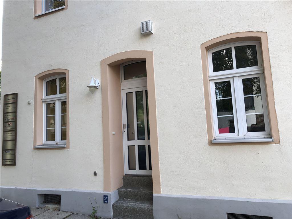 Eingang-Büro Florastraße