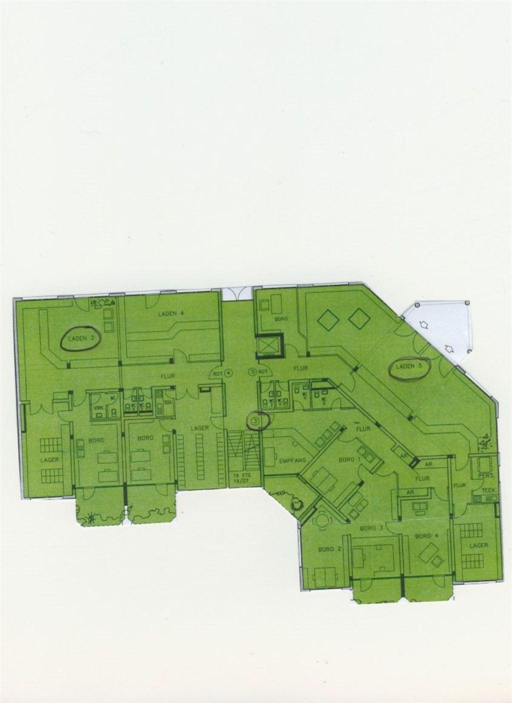 Grundriss EG Haus B
