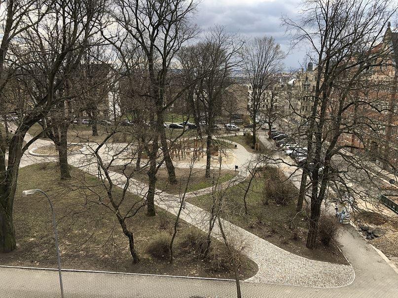 Park-gegenüber