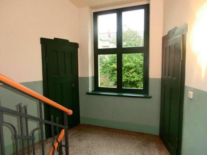 Treppenhaus mit Abstellkammer